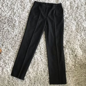 Escada dark gray wool trouser